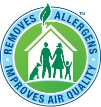 Removes Allergesn, Improves Air Quality